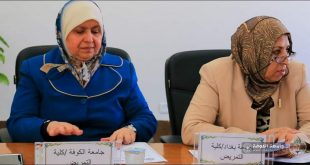 The Dean of our College participated in the periodic meeting of the Council for Quality Improvement and Academic Accreditation of Iraqi Nursing Colleges