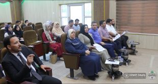 Faculty of Nursing at the University of Kufa held a discussion session research graduate students