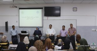 The College of Nursing holds a workshop