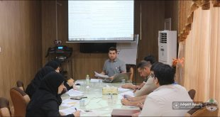 The Scientific Committee of the curriculum holds a meeting
