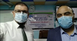 Two lecturers in our college participate in a seminar held by the Najaf Health Department