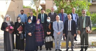 The Dean of the College of Nursing, Dr. Rajiha Al-Kassar, participates in the regular meeting of the Council of Deans of Iraqi Nursing Faculties